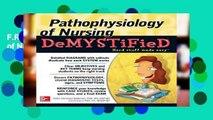 F.R.E.E [D.O.W.N.L.O.A.D] Pathophysiology of Nursing Demystified (Demystified Medical)