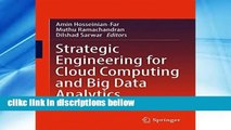 About For Books Strategic Engineering for Cloud Computing