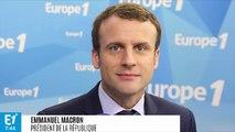 """EXCLUSIF - """"Fracture"""" de l'Europe : """"Non, je n'exagère en rien"""", affirme Emmanuel Macron"""