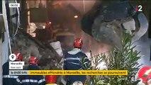 EN DIRECT - Marseille : Le corps d'un homme vient d'être découvert dans les décombres - Sept à huit personnes sont encore portées disparues - Les images de la nuit