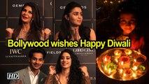 Bollywood stars wish fans 'Happy Diwali'