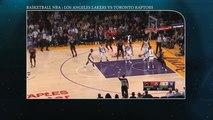 Basketball NBA 2018: Los Angeles Lakers vs Toronto Raptors