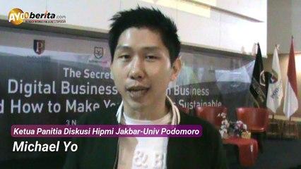 Mahasiswa Universitas Podomoro Belajar Bisnis Bareng Hipmi Jakbar