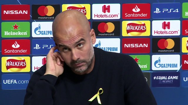 """Ambient: """"Believe me I don't know what happened"""" Pep Guardiola on documents that appear to show Man City overspending"""