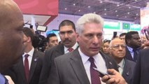 Díaz-Canel afirma que la Expo de Shanghái demuestra interés por enfrentar el proteccionismo