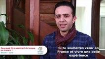 Pourquoi être assistant - Syrie