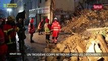 Le point après l'effondrement de trois  immeubles à Marseille