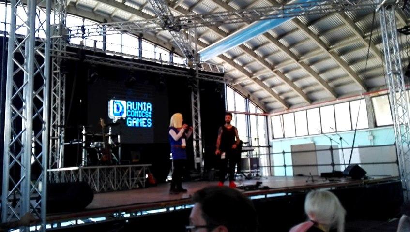 Milena Vigo sul palco del Daunia Comics and Games 2018 [PART II]