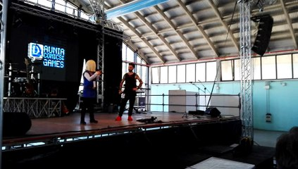Milena Vigo sul palco del Daunia Comics and Games 2018