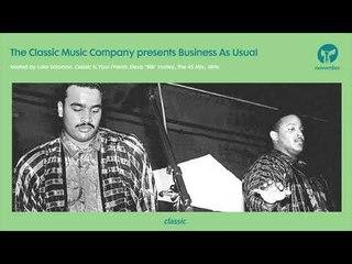 Business As Usual November 2018: Luke Solomon + Special Guest JKriv
