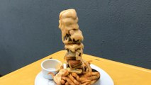 This Cheeseburger Kabob Is Smothered In A Four-Cheese Sauce