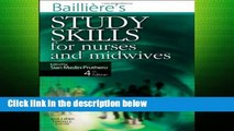 [P.D.F] Bailliere s Study Skills for Nurses and Midwives, 4e [E.B.O.O.K]