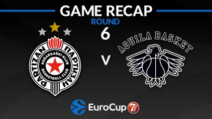 7Days EuroCup Highlights Regular Season, Round 6: Partizan 76-71 Trento