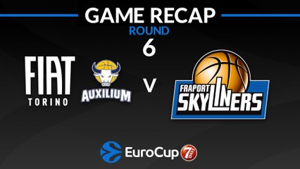7Days EuroCup Highlights Regular Season, Round 6: Fiat Turin 75-85 Skyliners