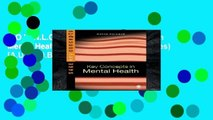 D.O.W.N.L.O.A.D [P.D.F] Key Concepts in Mental Health (SAGE Key Concepts series) [A.U.D.I.O.B.O.O.K]