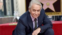 Michael Douglas Honored With Hollywood Walk Of Fame Star
