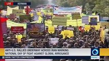 LIVE: Iranian students, people from various walks of life stage anti-U.S. demos across country on Student day.