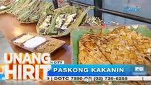 Unang Hirit: Pinagsamang sarap ng puto bumbong at tupig, ibinida sa 'Unang Hirit'