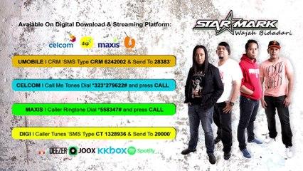 STARMARK - Wajah Bidadari (Official Lyrics Video)