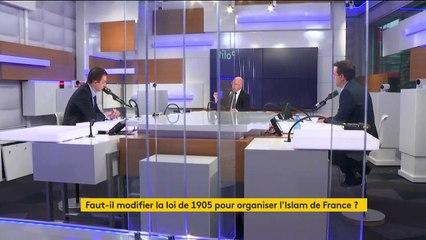 """""""Je ne souhaite pas que le gouvernement touche à la loi 1905"""" France Info 07/11/2018"""