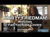 MARTY FRIEDMAN Watches Fan YouTube Guitar Covers | MetalSucks