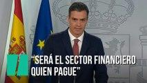 """""""Será el sector financiero y nunca más los ciudadanos quien pague el impuesto de actos jurídicos documentados"""""""