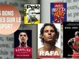 6 bons livres sur le football & les sportifs