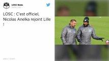 Ligue 1. Nicolas Anelka rejoint le staff de Christophe Galtier à Lille