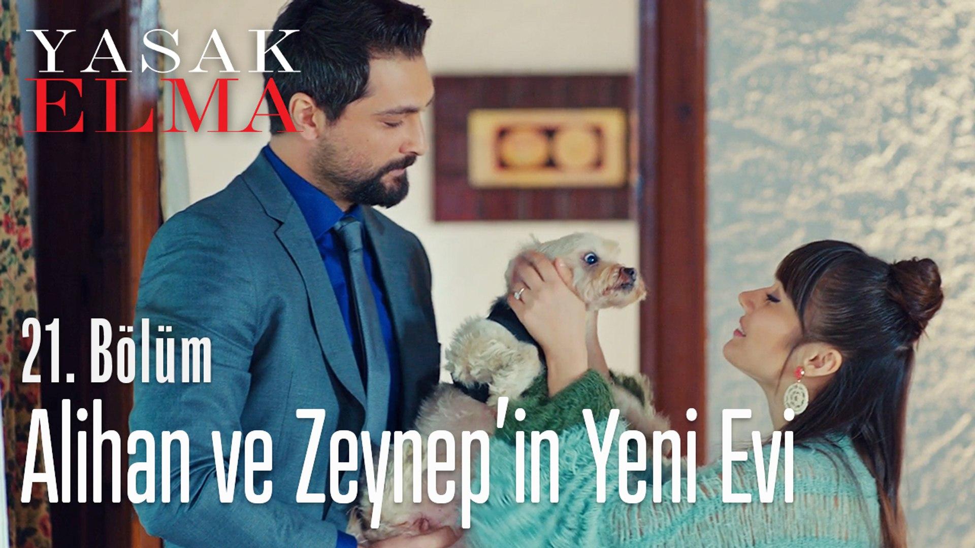 Alihan ve Zeynep'in yeni evi - Yasak Elma 21. Bölüm