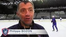 EDF. Premières séances pour Philippe Bozon en tant qu'entraineur des Bleus