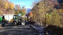 En Maurienne, les travaux sur la RD 926 avancent