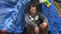Mons :  Jean, 27 ans, vit en plein air