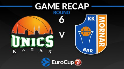 7Days EuroCup Highlights Regular Season, Round 6: UNICS 90-73 Mornar