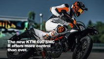 2019 KTM 690 SMC R Supermoto First Look