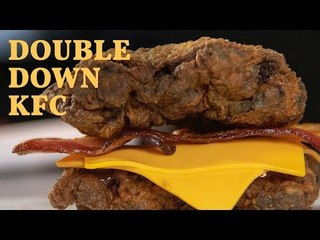 Hambúrguer Do Kfc Double Down!