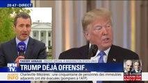 Après les Midterms, Donald Trump s'est montré très offensif en conférence de presse