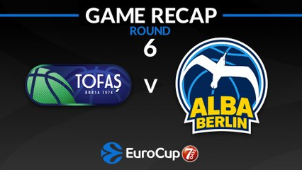 7Days EuroCup Highlights Regular Season, Round 6: Tofas 101-106 ALBA