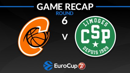 7Days EuroCup Highlights Regular Season, Round 6: Cedevita 91-71 Limoges