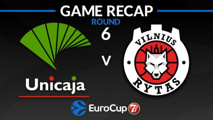 7Days EuroCup Highlights Regular Season, Round 6: Unicaja 95-76 Rytas