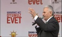 Binali Yıldırım'dan 'Başbakan Binali Yıldırım' sloganına yanıt