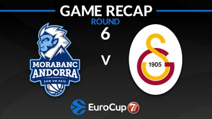 7Days EuroCup Highlights Regular Season, Round 6: Andorra 95-87 Galatasaray