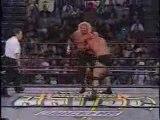 Goldberg vs. Diamond Dallas WCW World Heavyweight