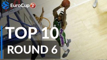 7DAYS EuroCup Regular Season Round 6 Top 10 Plays