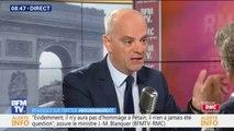 Jean-Michel Blanquer énumère les moyens qui seront mis en place pour lutter contre le harcèlement scolaire