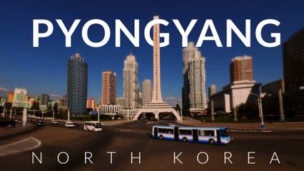 Peculiar Pyongyang - North Korea (DRPK) 4k -Time lapse -Tilt- shift