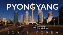 Peculiar Pyongyang - North Korea (DRPK) 4k -Time lapse -Tilt- shift