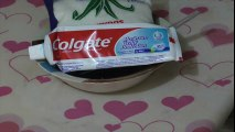 Colgate Toothpaste Slime with Sugar !! How to make Slime Sugar, Super Easy Slime