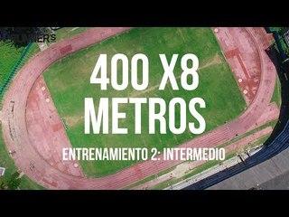 Gana velocidad con este entrenamiento de 400 metros
