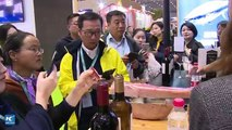Live: #CIIE Xinhua reporters stroll through the food and agriculture exhibition, checking out all the cool and unique food, drinks, and services from around the