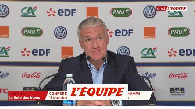 Deschamps «Martial a un potentiel incroyable» - Foot - Ligue des nations - Bleus